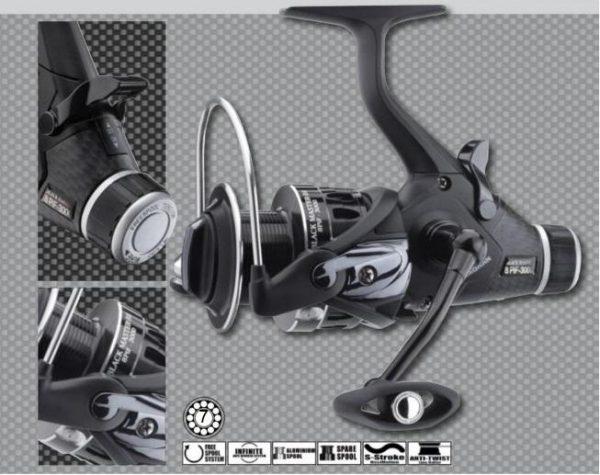 Cormoran Black Master 2500  BR 8 PIF nyeletőfékes orsó 2018