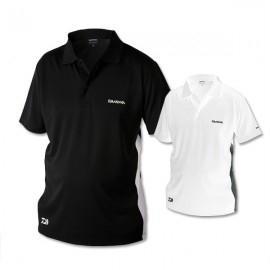 Daiwa D-vec póló ing fekete-fehér
