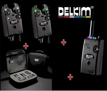 Delkim Txi Plus komplett kapásjelző szett 2+1