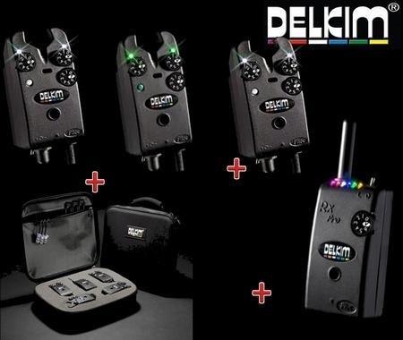 Delkim Txi Plus komplett kapásjelző szett 3+1