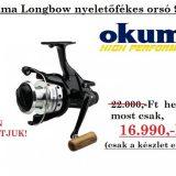 Okuma Longbow LB 90 nyeletőfékes orsó