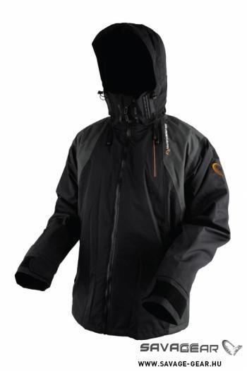 Savage Gear Black Savage Jacket Grey Kabát