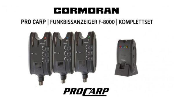 Cormoran Pro Carp F-8000 elektromos kapásjelző szett 3+1